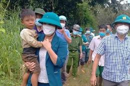 Bình Phước: Cháu bé mất tích nghi do nước lũ cuốn trôi đã được tìm thấy an toàn