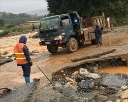 Huyện Tu Mơ Rông, tỉnh Kon Tum thiệt hại nặng do bão số 5