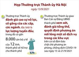 Hà Nội xem xét nới lỏng một số hoạt động dịch vụ sau ngày 15/9 và 21/9