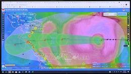 Từ đêm 13/10, bão số 8 gây gió giật cấp 9-10 vùng ven bờ từ Quảng Ninh đến Quảng Bình