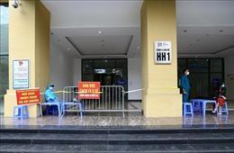 Hà Nội: Phong tỏa khu căn hộ toà nhà HH01A chung cư New Horizon City
