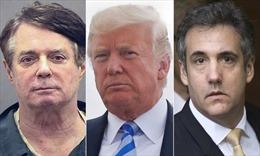 Hai cựu phụ tá nhận tội, Tổng thống Trump đối mặt rắc rối pháp lý lớn chưa từng có
