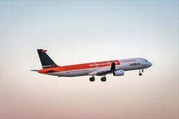 Xem máy bay Airbus vỗ cánh như chim