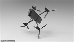 Drone tự tìm mục tiêu, giăng lưới bắt gọn
