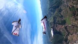 Màn nhào lộn trên không trong cuộc thi môn thể thao mạo hiểm nhất thế giới