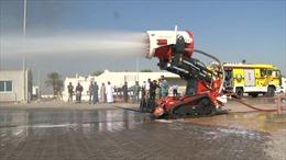 Cảnh sát UAE thử nghiệm robot cứu hỏa
