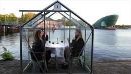 Trải nghiệm ăn hàng trong nhà kính ở Amsterdam