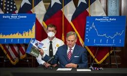 Ca nhiễm COVID-19 tăng vọt ở Texas, Thống đốc bang loay hoay đối phó