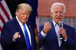 Cập nhật Bầu cử Mỹ 2020: Ông Biden tạm dẫn với 238 phiếu; Tổng thống Trump thắng thêm nhiều bang chiến địa