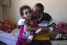 Nỗi đau tột cùng của trẻ em Gaza trong xung đột Israel-Hamas