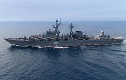 20 tàu chiến Hạm đội Thái Bình Dương của Nga rẽ sóng tập trận quy mô lớn