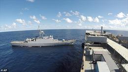 Bị Mỹ gây sức ép, tàu chiến Iran nghi chở vũ khí sang Venezuela buộc phải đổi hướng