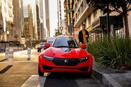 Độc đáo ô tô điện 3 bánh, 1 chỗ ngồi, giá chỉ 421 triệu đồng