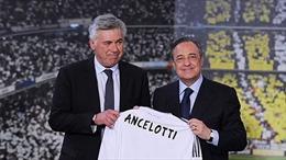 Ancelotti về lại mái nhà xưa Real Madrid