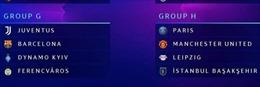 Vòng bảng Champions League 2020 - 2021 rất đáng chờ đợi