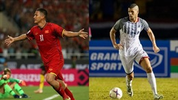 Những cặp cầu thủ đối đầu quyết định trận bán kết Philippines - Việt Nam