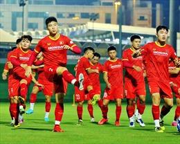 Đội tuyển Việt Nam sung sức, đẩy cao khối lượng vận động, phân tích đối thủ tuyển Trung Quốc