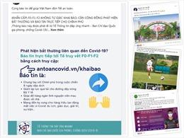 Dàn cầu thủ Việt truyền thông điệp chung tay phòng, chống đại dịch COVID-19