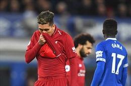 Hòa trong trận derby Merseyside, Liverpool mất ngôi đầu về tay Man City