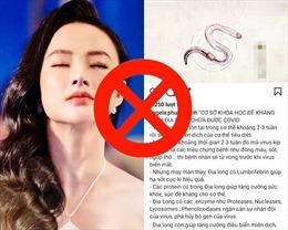 'Thổi còi' nghệ sĩ phát ngôn sai trên báo chí, mạng xã hội