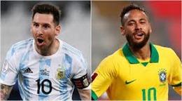 Brazil - Argentina: Khi Messi đụng độ Neymar