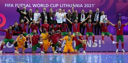 Bồ Đào Nha đăng quang vô địch futsal World Cup 2021