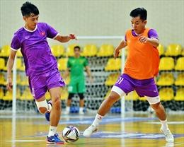 Đội tuyển futsal Việt Nam 'làm nóng' trước khi vào giải đấu lớn