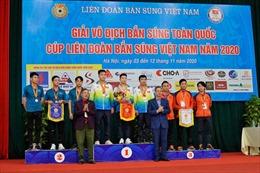 Kỳ vọng phát hiện tài năng trẻ từ Giải Vô địch Bắn súng toàn quốc 2020