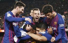 Hạ đẹp Atletico 2 - 0, Barcelona cầm chắc ngôi vô địch La Liga