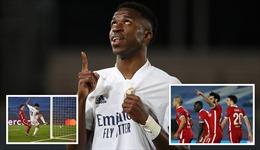 Real Madrid 3 - 1 Liverpool: Đẳng cấp của dải ngân hà