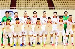 Đội tuyển Futsal Việt Nam đặt mục tiêu vào vòng 1/8 FIFA Futsal World Cup 2021