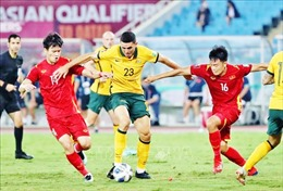 Trận thua đáng tiếc của tuyển Việt Nam trước Australia