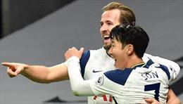 'Song sát' Son - Kane tỏa sáng đưa Tottenham trở lại đỉnh Ngoại hạng Anh
