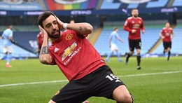 Manchester United 'cắt đứt' chuỗi 21 trận thắng liên tiếp của The Citizens