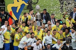 Hạ Peru 3 - 1, Brazil lần thứ 9 đăng quang Copa America
