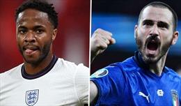 Chung kết EURO 2020: Sư tử Anh thường bị Azzurri 'bắt vía'