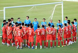 Đội tuyển Việt Nam sẽ hội quân trở lại vào ngày 16/9