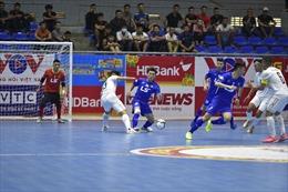 Giải Futsal VĐQG 2021: Quyết liệt cuộc chiến ngôi đầu