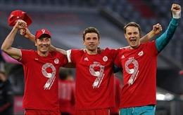 'Hùm xám' Bayern lần thứ 9 liên tiếp vô địch Bundesliga