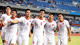 Những bước 'chạy đà' ấn tượng của U22 Việt Nam cho SEA Games 2019