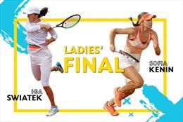 Chung kết đơn nữ Iga Swiatek - Sofia Kenin: Hiện tượng thú vị tại Roland Garros 2020