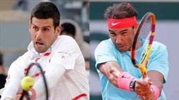 Nadal và Djokovic tạo nên trận chung kết trong mơ tại Pháp mở rộng 2020