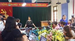 Thông tin ban đầu về vụ việc thầy giáo bị tố cáo dâm ô học sinh nam tại Hà Nội