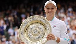 Ashleigh Barty đăng quang Wimbledon 2021