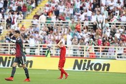 Thua đội số 1 châu Á Iran với tỷ số 0-2, đội tuyển Việt Nam vẫn nuôi hy vọng