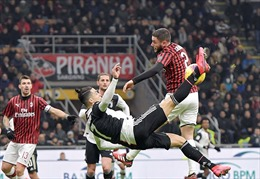 Bán kết lượt về Coppa Italia: Đại chiến Juventus - AC Milan