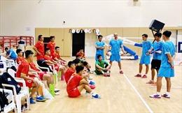 22 tuyển thủ futsal Việt Nam di chuyển ra Hà Nội