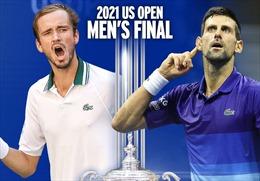 Chung kết US Open 2021: Djokovic chuẩn bị 'vượt mặt' Nadal và Federer