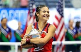 Tay vợt 18 tuổi Emma Raducanu vô địch giải quần vợt Mỹ mở rộng 2021