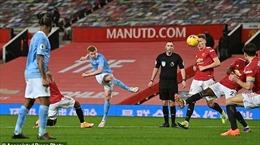 Hòa Man City, với Man United đã là trận tuyệt nhất?
